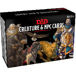 DD5 Monster Cards: NPCs & Creatures (182 cards)
