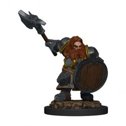 DD5 Icons: Dwarf Male Fighter Premium Figure