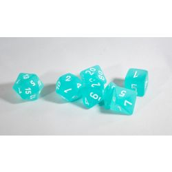 FROSTED TEAL/WHITE 7-DIE SET