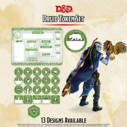 DD5 Druid Token Set (Player Board & 23 tokens)