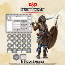 DD5 Fighter Token Set (Player Board & 23 tokens)
