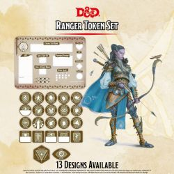 DD5 Ranger Token Set (Player Board & 23 tokens)