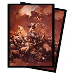 Frazetta The Destroyer Deck Protector 100ct