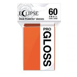 Eclipse Gloss Small Size Pumpkin Orange Deck Protector 60ct
