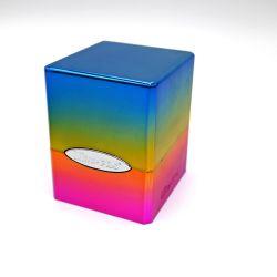 Hi-Gloss Rainbow Satin Cube