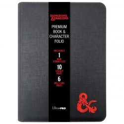 D&D Premium Zippered Book & Character Folio