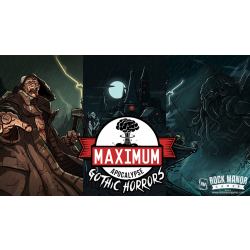 MAXIMUM APOCALYPSE:GOTHIC HORRORS