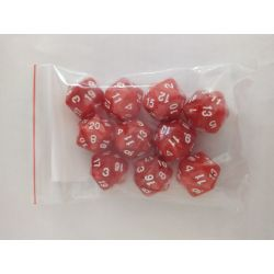 PEARL D20 RED/WHITE