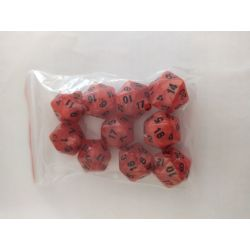 PEARL D20 RED/BLACK