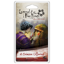 L5R LCG: A Crimson Offering Dynasty Pack