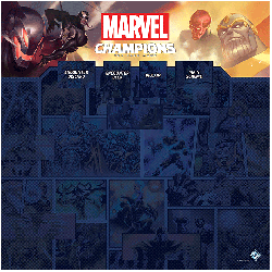 Marvel Champions: 1–4 Players Game Mat