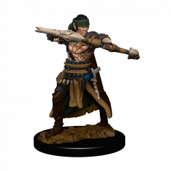 Pathfinder Battles: Premium Painted Figure - Half-Elf Ranger Male