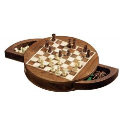 CHESS SET ROUNDED MAGNETIC (2729)