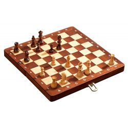 DELUXE TRAVEL CHESS SET