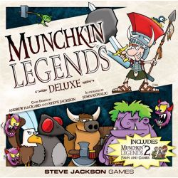 MUNCHKIN LEGENDS DELUXE REVISED