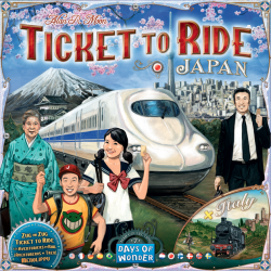 TICKET TO RIDE JAPAN & ITALY MAP COLLECTION VOL.7