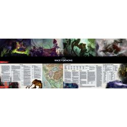 DD5 Out of the Abyss DM Screen