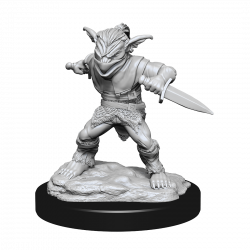 D&D Nolzur's Mini: Goblin Male Rogue & Goblin Female Bard