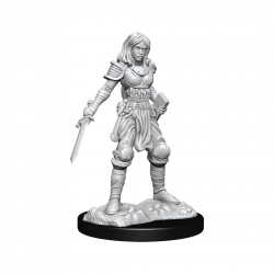 Pathfinder Deepcuts: Human Female Fighter