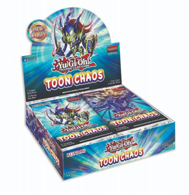 Toon Chaos Booster Display
