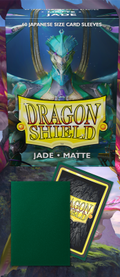 DS Small Matte Jade Sleeves 60ct