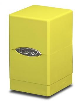 BRIGHT YELLOW SATIN TOWER