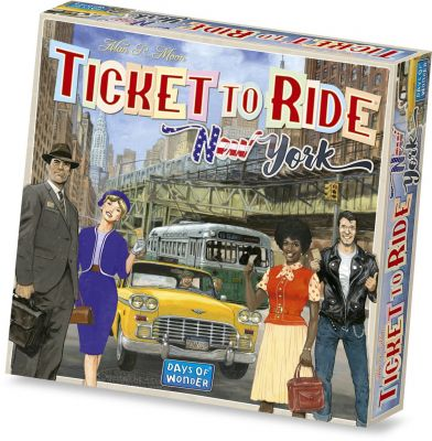 TICKET TO RIDE EXPRESS: NEW YORK 1960