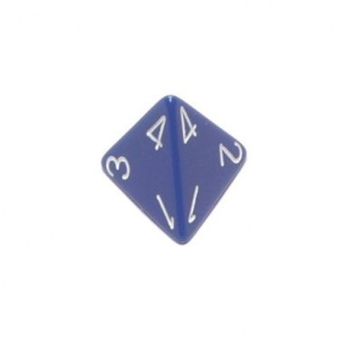 OPAQUE D4 LOOSE DICE