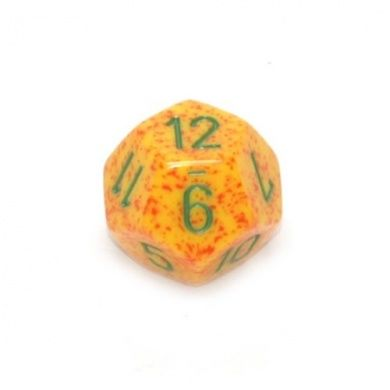 SPECKLED D12 LOOSE DICE
