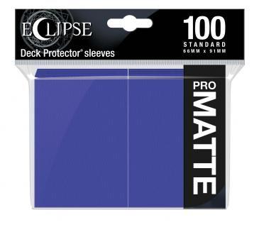 Eclipse Royal Purple Matte Deck Protector 100ct