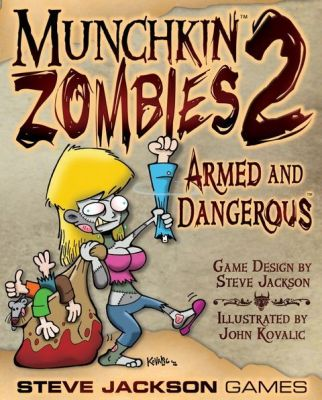 Munchkin Zombies Armed and Dangerous Box