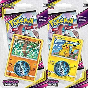 POKEMON: SM11 UNIFIED MINDS CHECKLANE BLISTER