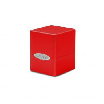Apple Red Satin Cube