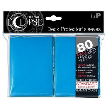 Eclipse Light Blue Pro-Matte Deck Protector 80ct