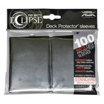 Eclipse Jet Black PRO-Matte Deck Protector 100ct