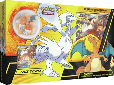 POKEMON: RESHIRAM/CHARIZARD-GX FIGURE COLLECTION