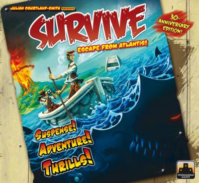 SURVIVE ESCAPE FROM ATLANTIS 30TH ANNIVERSARY