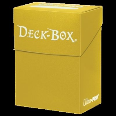 BRIGHT YELLOW SOLID DECKBOX