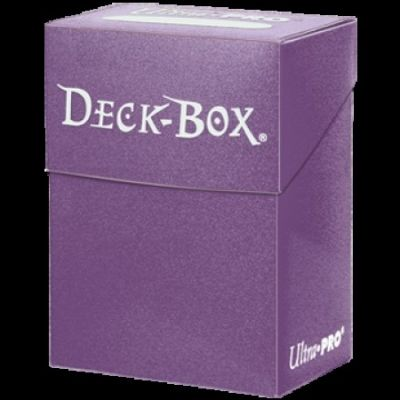 PURPLE SOLID DECKBOX