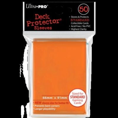ORANGE DECK PROTECTOR 50-CT