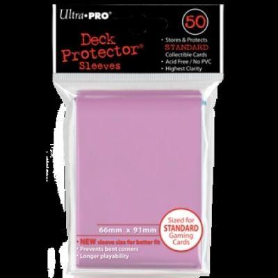 PINK DECK PROTECTOR 50-CT