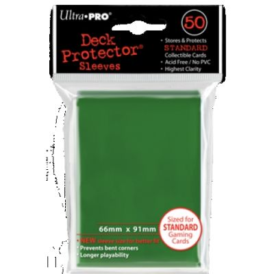 GREEN DECK PROTECTOR 50-CT
