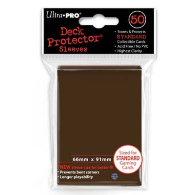 BROWN DECK PROTECTOR 50-CT
