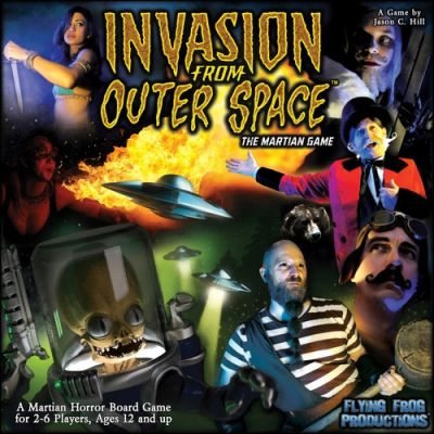 INVASION FROM OUTER SPACE : MARTIAN