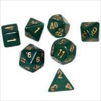 OPAQUE DUSTY GREEN W/COPPER 7-DIE SET