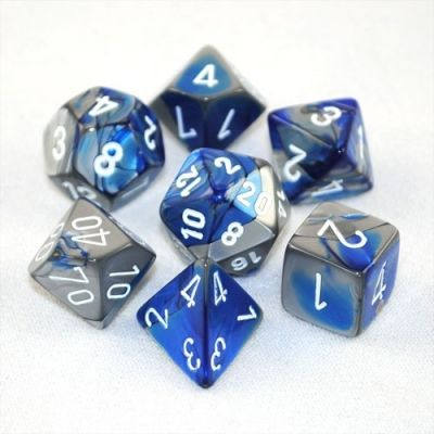 GEMINI BLUE-STEEL W/WHITE 7-DIE SET