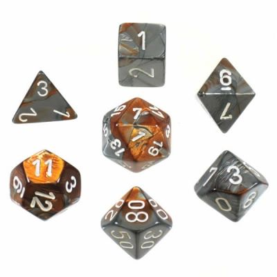 GEMINI COPPER-STEEL W/WHITE 7-DIE SET