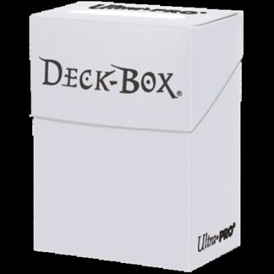 SOLID WHITE DECK BOX