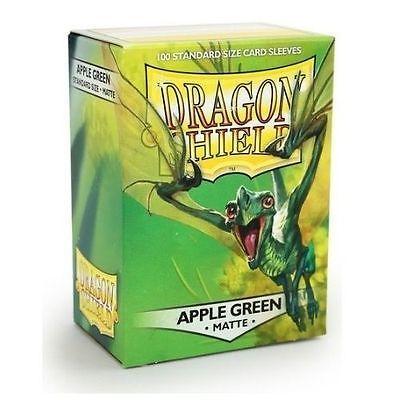 DRAGON SHIELD MATTE APPLE GREEN 100-CT