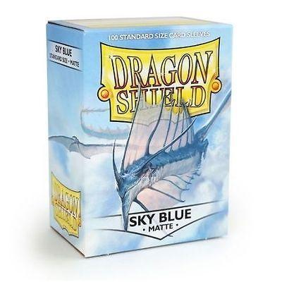 DRAGON SHIELD MATTE SKY BLUE 100-CT